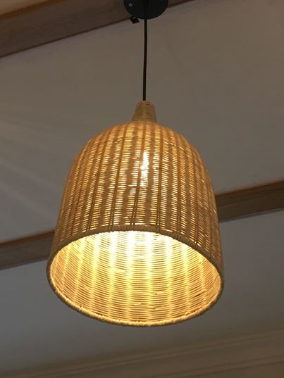Đèn treo trần Papasan DT02 size 40 hàng thủ công mỹ nghệ