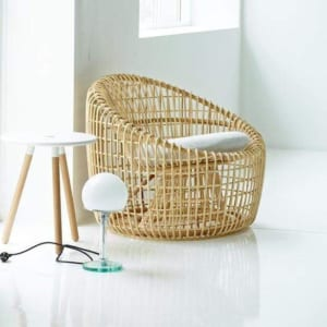 Nest rounded chair